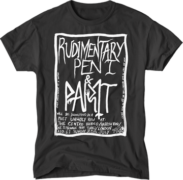 paint-it-black-design - Rudimentary peni Men's T-Shirt - T-Shirt