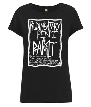paint-it-black-design - Rudimentary peni  Women's  T-Shirt - T-Shirt