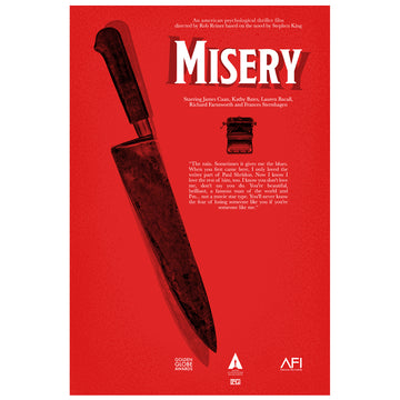Misery movie inspired poster - Paint It Black poster online shop