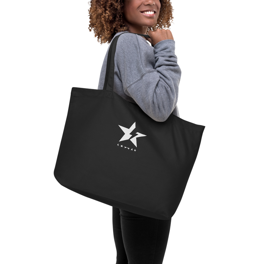 Black Star Tote Bag - Paint It Black accessories shop online
