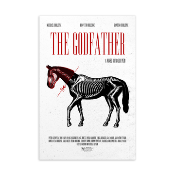 The Godfather  Postcard | Paint It Black Postcards Shop