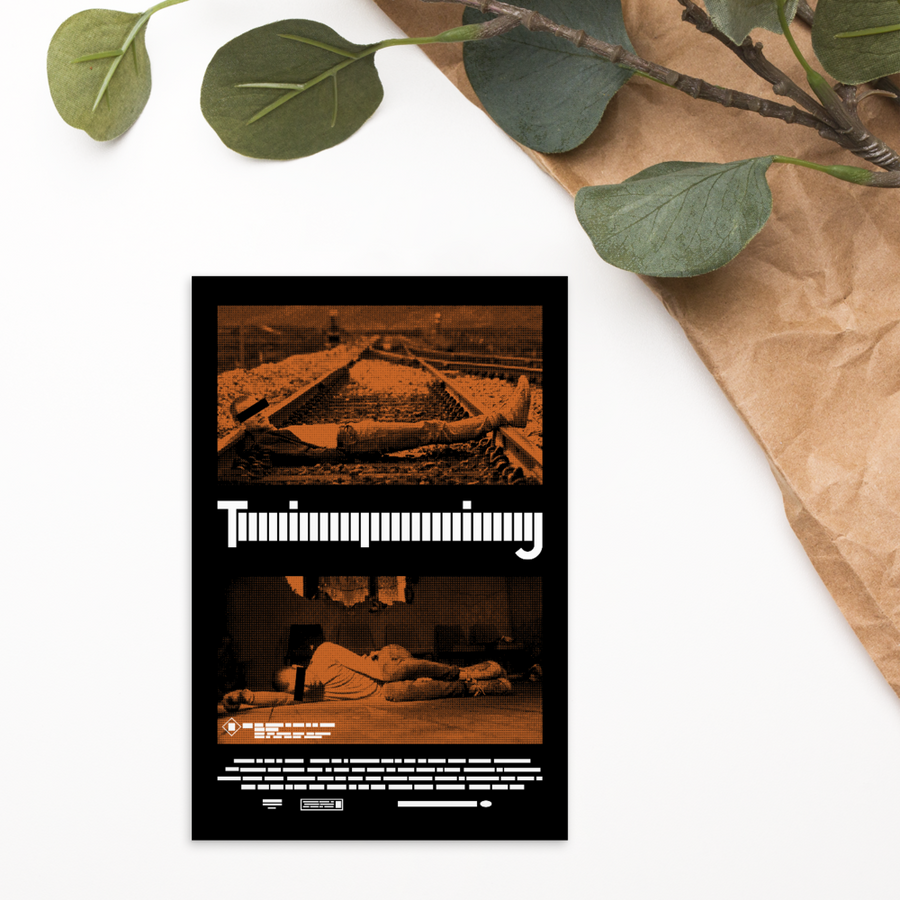 Trainspotting - Paint It Black postcard shop online