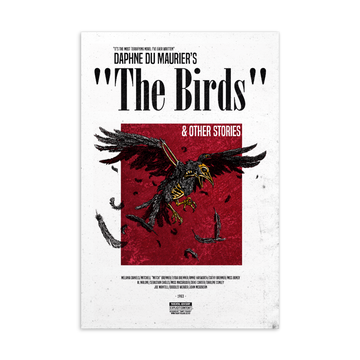 The Birds Postcard | Paint It Black Postcards Shop