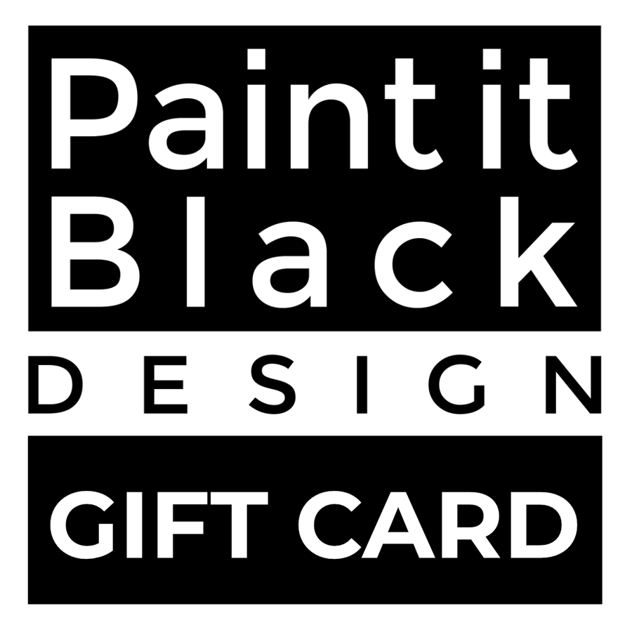 Paint It Black Gift Card
