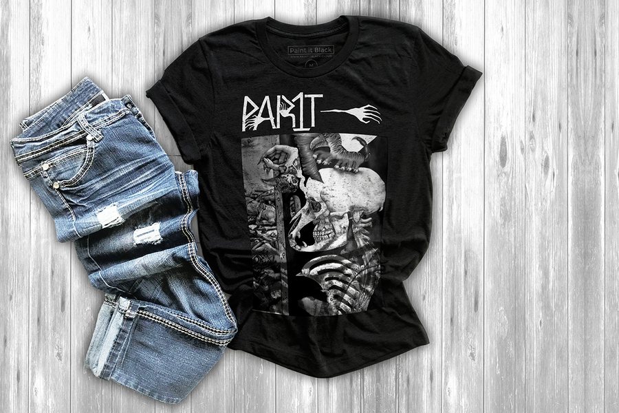 Paint It Black Part 1 Men's T-Shirt