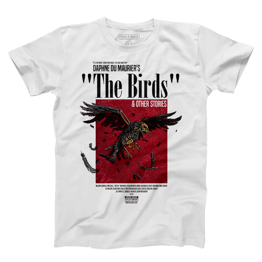 The birds Alfred Hiitchcock unisex tshirt