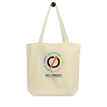 Go green Eco Tote Bag | Paint It Black shop online