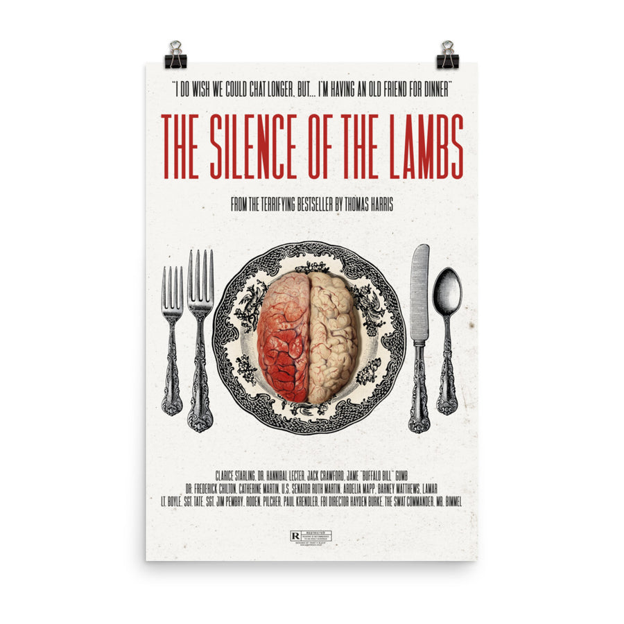 The Silence of the Lambs Inspired – Poster