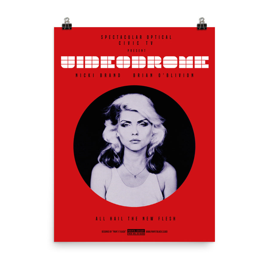 Videodrome Debbie Harry Blondie poster