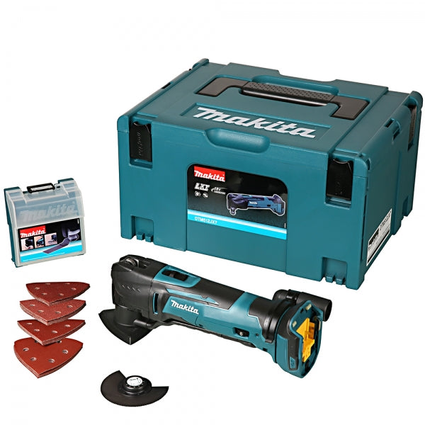 Makita DTM51ZJX7 18v Multi Tool Body with 23 PCS Accessory Kit