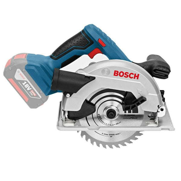 Bosch GKS 18 V-57 Circular Saw 165mm Body Only 06016A2200