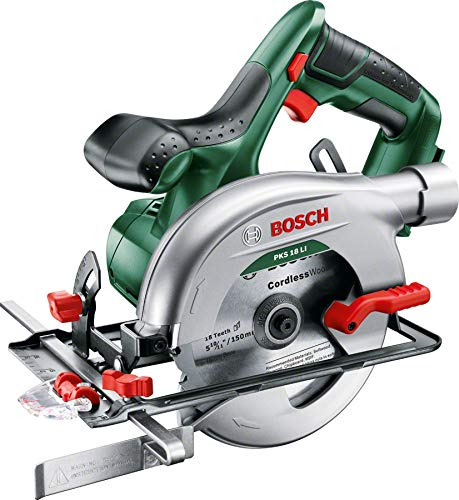 PKS 18 LI Cordless Circular Saw (Without Battery and Charger) 06033B1300 - Comparethetools.eu