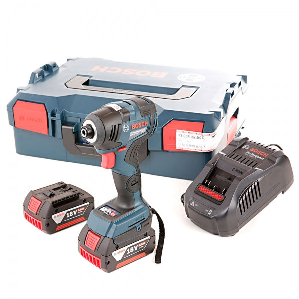GDR18V-200C 18V Brushless Impact Driver With 2 x 5.0Ah Batteries, Charger & Carry Case