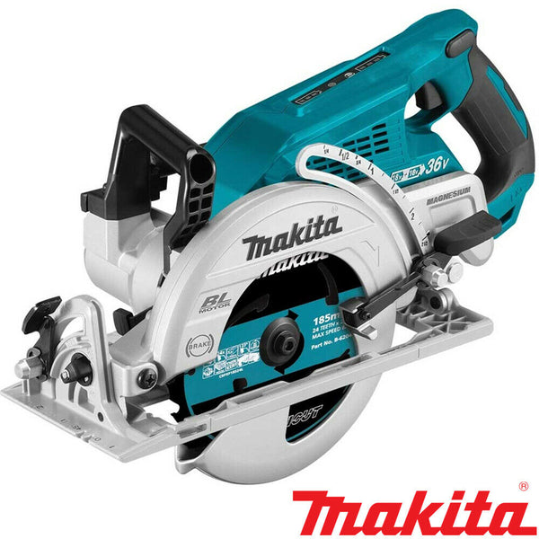 Makita DRS780Z Twin 18v LXT Li-ion Brushless Circular Saw 185mm Body Only