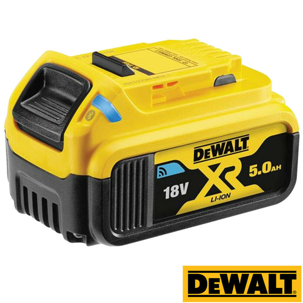 DeWalt DCB184B 18v 5Ah Li-ion Tool Connect Bluetooth Slide Battery Like DCB184