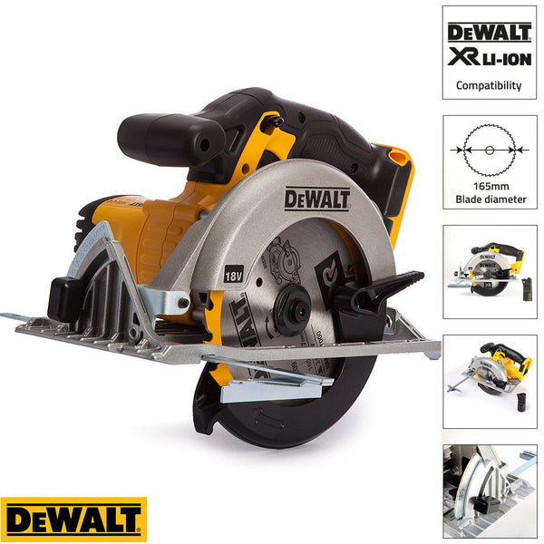 DeWalt DCS391N 18V XR Li-Ionen Kreissäge 165mm Bare Unit