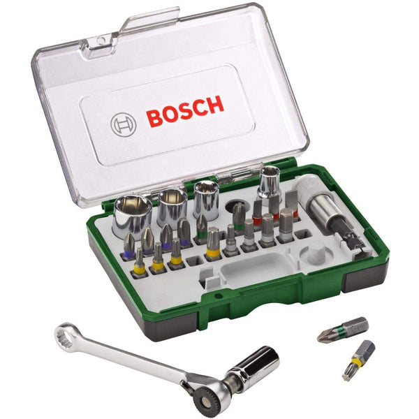 27pc Ratchet Screwdriving Set - Comparethetools.eu
