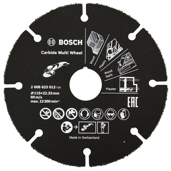 2608623012 Cutting Disc Carbide 115 x 22.23mm - Comparethetools.eu
