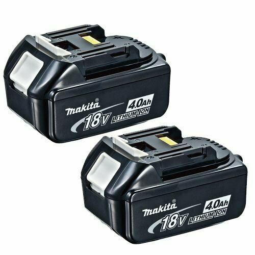 Makita Genuine BL1840 18v 4.0ah LXT Li-ion Battery with Star Pack of 2
