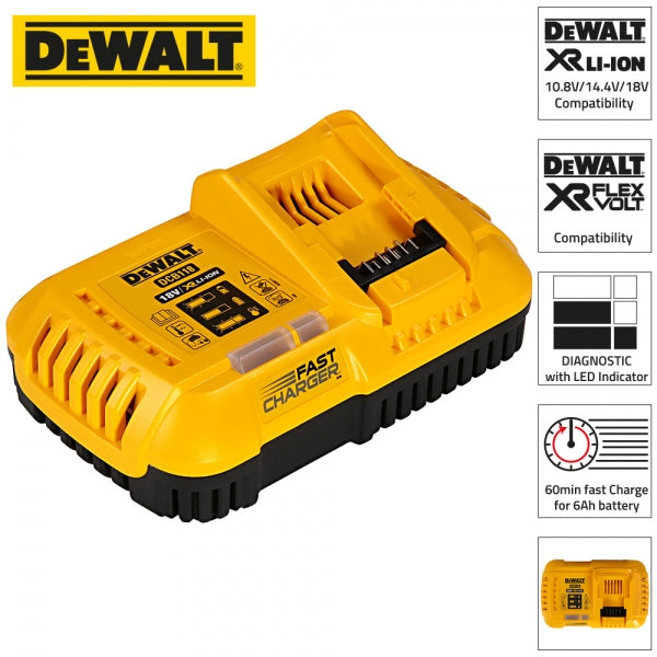 DCB118 XR Flexvolt Fast charger Only - Comparethetools.eu