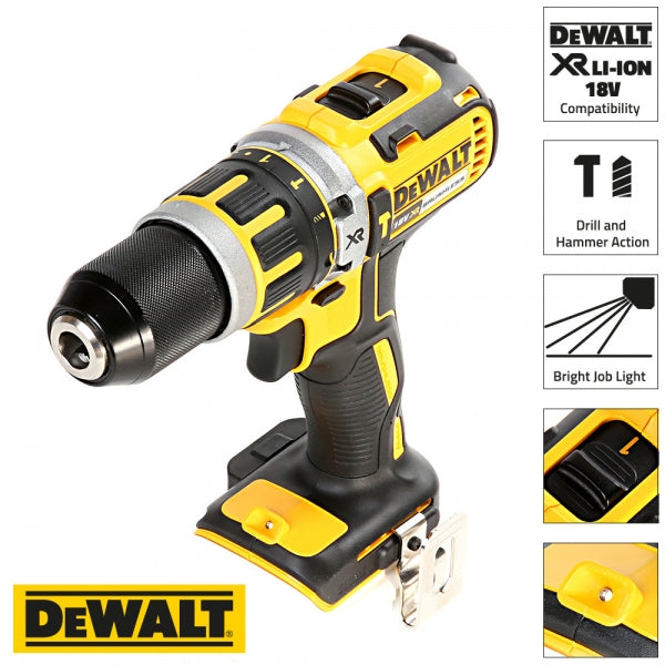DCD795N 18V Brushless Combi Drill Body Only - Comparethetools.eu