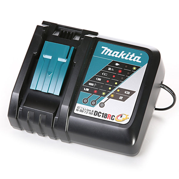 DC18RC 7.2v -18V Li-ion Fast Battery Charger - Comparethetools.eu