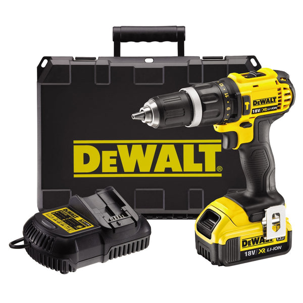 DCD795M1 18V Drill Body With 1 x DCB182, DCB105 & Case - Comparethetools.eu
