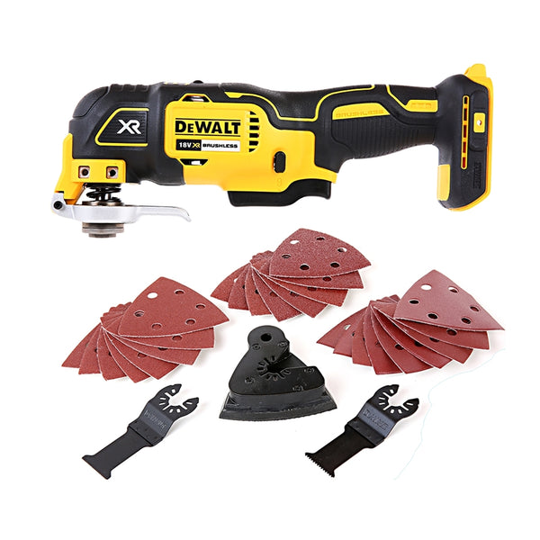 DeWalt DCS355N 18V XR Brushless Oscillating Multi Tool With 29 Piece Acc. Set
