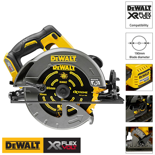 DCS575N 54V Cordless Xr FlexVolt Circular Saw