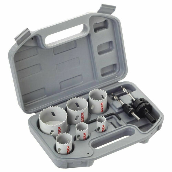 9pc LPP Electricians Holesaw Set - Comparethetools.eu