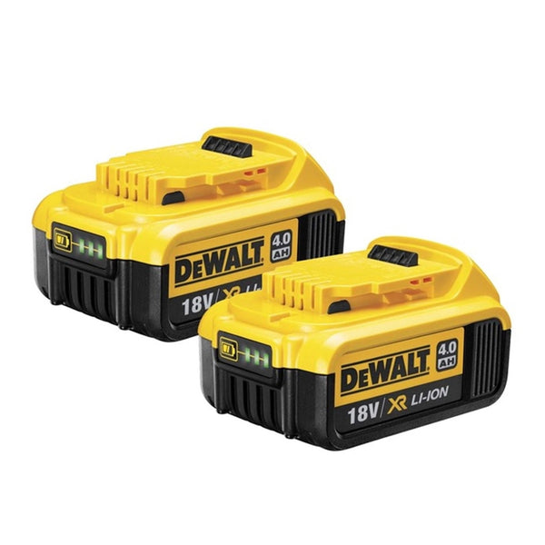 DCB182 4Ah XR Li-Ion Battery (Pack of 2) - Comparethetools.eu