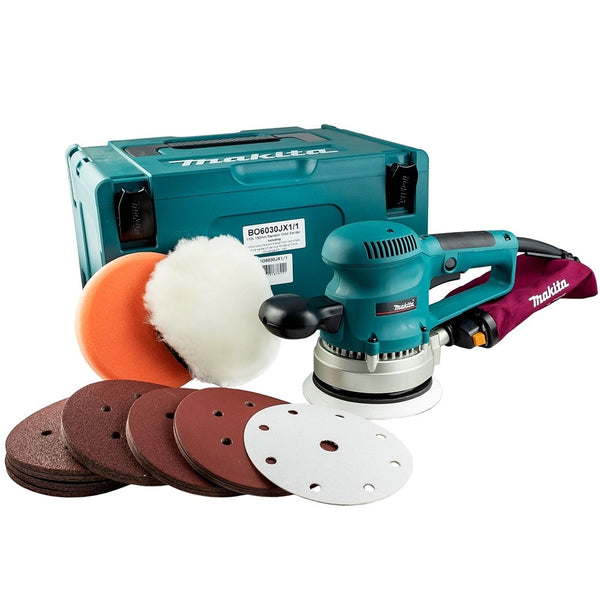 BO6030JX1 Random Orbit Sander + 53 Accessories 240V - Comparethetools.eu