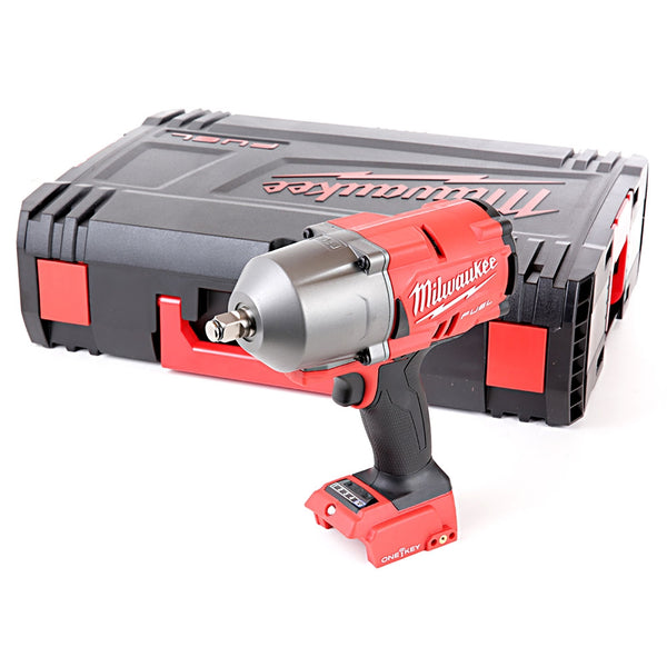 M18ONEFHIWF12-0 18V M18 1/2in Fuel One-Key Impact Wrench Body With Case - Comparethetools.eu