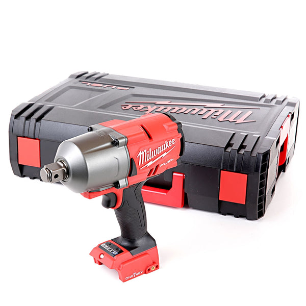 "M18ONEFHIWF34-0 M18 18V 3/4"" Fuel High-Torque One Key Impact Wrench With Case - Comparethetools.eu"