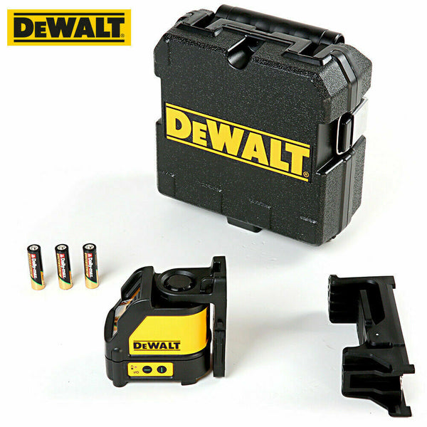 Dewalt DW088CG Green Beam Self Levelling Cross Line Laser With Carry Case