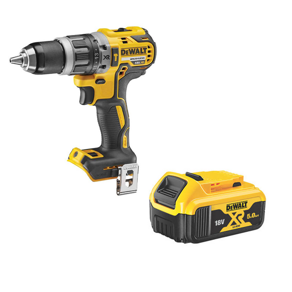 DCD796N 18v Combi Drill With 1 x DCB184 5Ah Battery - Comparethetools.eu