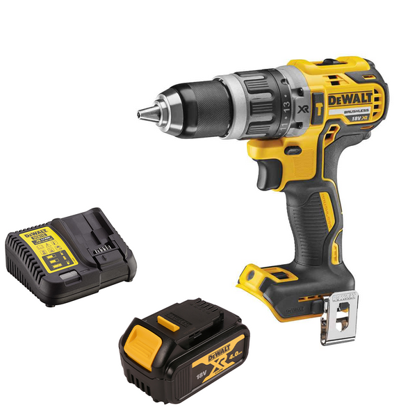 DCD796N 18v Combi Drill + 1 x 4Ah Battery & Charger - Comparethetools.eu