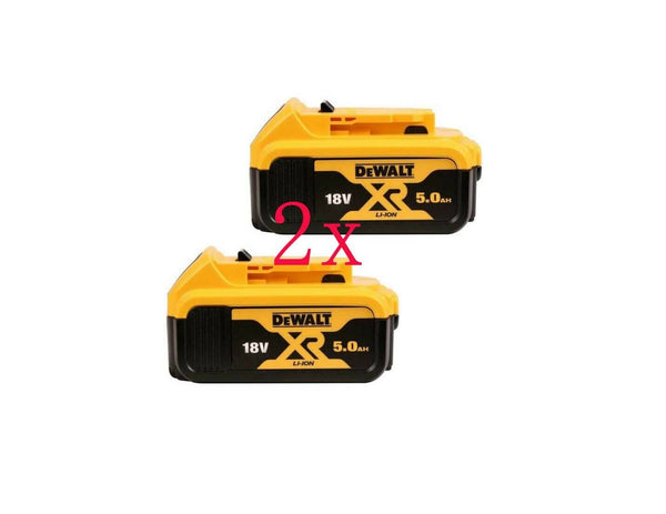 DCB184 18V XR 5ah Slide Battery Twin Pack, 18 V - Comparethetools.eu