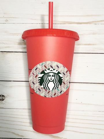 Starbucks Color Changing Cups w/ Decal