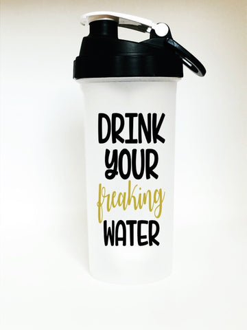 Shaker Bottle w/ Decal (Exclusive to show)