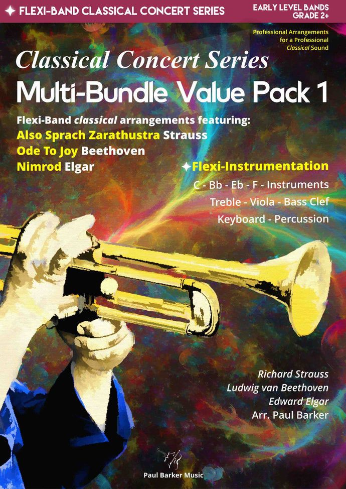 Classical Concert Series Multi-Bundle Value Pack 1 - Paul Barker Music