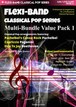 Load image into Gallery viewer, Flexi-Band Classical Pop Series - Multi-Bundle Value Pack 1 - Paul Barker Music