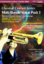 Load image into Gallery viewer, Classical Concert Series Multi-Bundle Value Pack 3 - Paul Barker Music