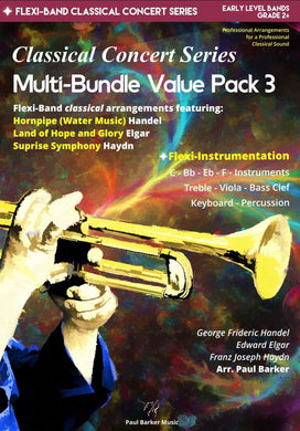 Classical Concert Series Multi-Bundle Value Pack 3 - Paul Barker Music