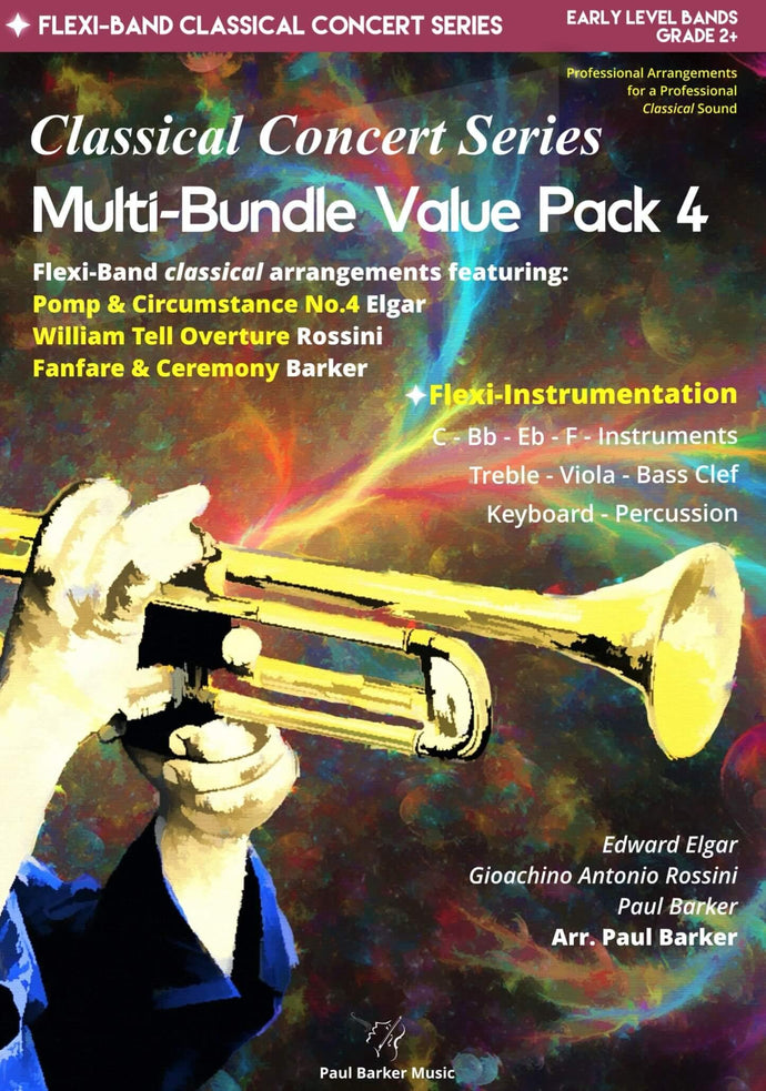 Classical Concert Series Multi-Bundle Value Pack 4 - Paul Barker Music
