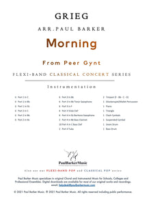 Morning from Peer Gynt - Paul Barker Music