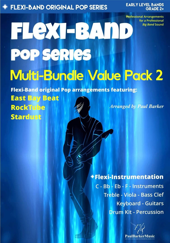 Flexi-Band Pop Series - Multi-Bundle Value Pack 2 - Paul Barker Music