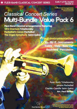 Load image into Gallery viewer, Classical Concert Series Multi-Bundle Value Pack 6 - Paul Barker Music