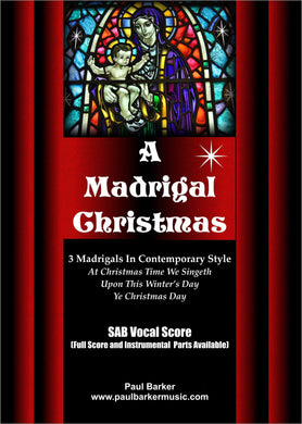 A Madrigal Christmas - Paul Barker Music