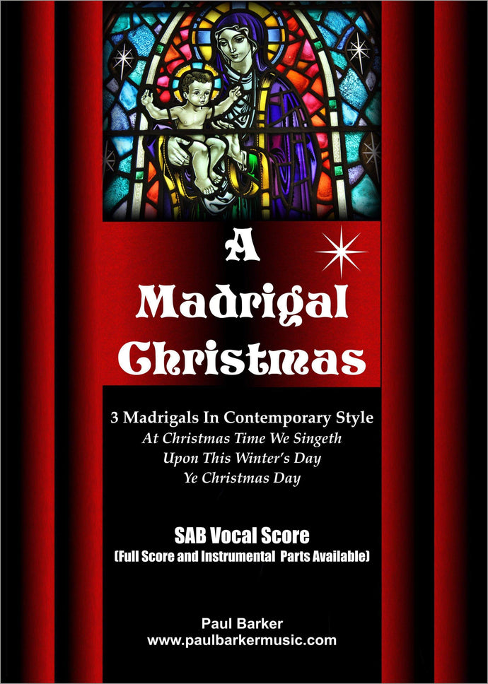 A Madrigal Christmas-Christmas-Paul Barker Music